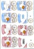3D-Bogen Kinderwagen von LeSuh (416966)