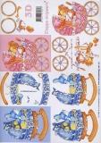 3D-Bogen Wiege und Kinderwagen von LeSuh (4169263)