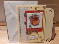 3D-Karte zum Geschenk-Gutschein - Gutschein Weihnachten - Nr.12