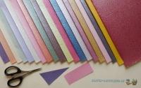 Bastelpapier-Set Satin-Crinkle von LeSuh
