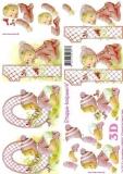 3D-Bogen Baby rosa 0-1 Jahre von LeSuh (4169621)