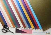 Mini-Bastelpapier-Set Leinen von LeSuh