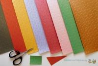 Mini-Bastelpapier-Set Feuerwerk von LeSuh