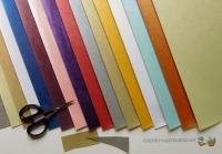 Mini-Bastelpapier-Set Striche von LeSuh