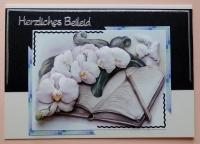 Bastelset Nr.4 Trauer / Kondolenz für 10 Karten