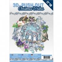 Stanzbogen-Buch Nr.18 - Christmas Wishes / Weihnachten