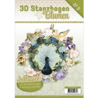 Stanzbogen-Buch Nr.2 - Flowers / Blumen