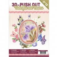 Stanzbogen-Buch Nr.13 - Butterflies and Flowers / Schmetterlinge und Blumen