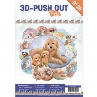 Stanzbogen-Buch Nr.26 - Pets / Haustiere