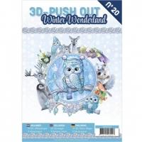 Stanzbogen-Buch Nr.20 - Winter-Wonderland / Winter-Wunderland