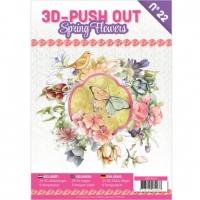 Stanzbogen-Buch Nr.22 - Spring Flowers / Frühlingsblumen