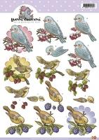3D-Bogen - Vögel - Yvonne Creations