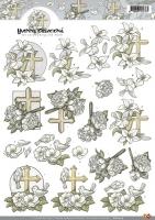 3D-Bogen - Kondolenzschreiben - Yvonne Creations