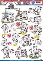 3D-Bogen - Kühe in Holland - Yvonne Creations