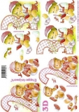 3D-Bogen Baby rosa 2-3 Jahre von LeSuh (4169622)