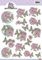 3D-Bogen - Blumen - Yvonne Creations
