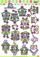 3D-Bogen - Uhren - Yvonne Creations