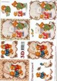 3D-Bogen Weihnachtsbären von LeSuh (4169311)