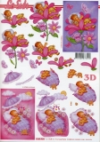 3D-Bogen Baby-Mädchen von LeSuh (4169934)