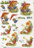 3D-Bogen Pilz und Maus von LeSuh (4169938)
