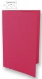 5 Doppelkarten A6 pink