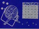 Sticker - Bingo - silber - 1216