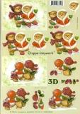 3D-Bogen Bärchen von LeSuh (4169343)