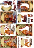 3D-Bogen Weihnachtsbär von LeSuh (4169333)