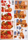 3D-Bogen Bär und Sonnenblume von LeSuh (416940)