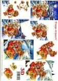 3D-Bogen Weihnachtsbär von LeSuh (416994)