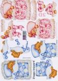 3D-Bogen Babybärchen von LeSuh (4169438)