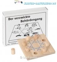 Mini-Knobelspiel - Der verzwickte Behördengang