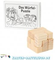 Mini-Knobelspiel - Das Würfel-Puzzle