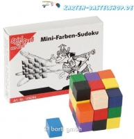 Mini-Knobelspiel - Mini-Farben-Sudoku