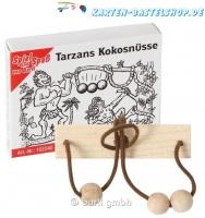 Mini-Knobelspiel - Tarzans Kokosnuss