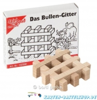Mini-Knobelspiel - Das Bullen-Gitter