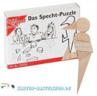 Mini-Holzpuzzle - Das Specht-Puzzle