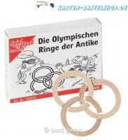 Mini-Holzpuzzle - Die olympischen Ringe der Antike