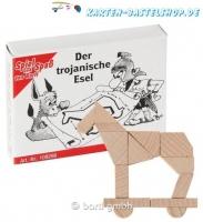 Mini-Holzpuzzle - Der trojanische Esel