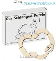 Mini-Holzpuzzle - Das Schlangen-Puzzle