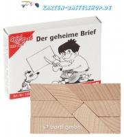 Mini-Holzpuzzle - Der geheime Brief