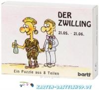 Sternzeichen-Puzzle - Der Zwilling