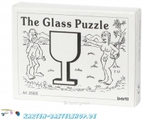 Mini-Holzpuzzle (englisch) - The Glass Puzzle
