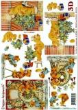 3D-Bogen Weihnachtsbärchen von LeSuh (4169386)