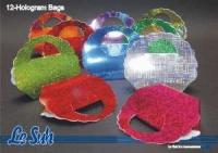 Falttäschchen Hologramm - Set mit 12 Taschen