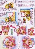 3D-Bogen Bärchen mit Herz von LeSuh (4169437)