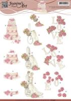 3D-Bogen - Hochzeit - Jeanines Art