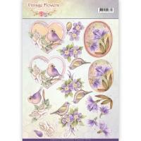 3D-Bogen - Vintage Flowers - Jeanines Art (048)