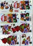 3D-Bogen Weihnachtsbär von LeSuh (4169397)