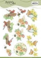 3D-Bogen - Butterfly - Jeanines Art